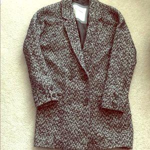Tweed winter jacket